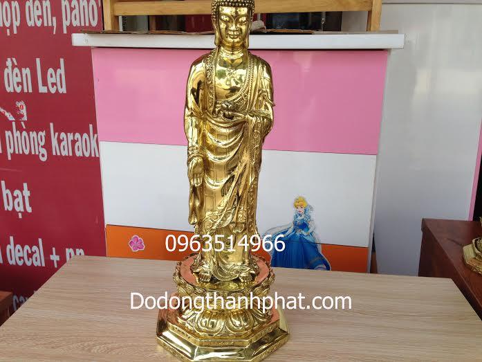 Tượng ADiDa Thế Đứng Đồng Vàng