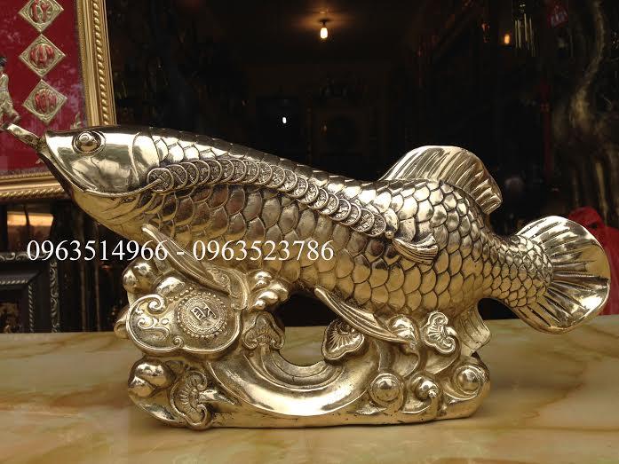 Cá Rồng Tài lộc Bằng Đồng