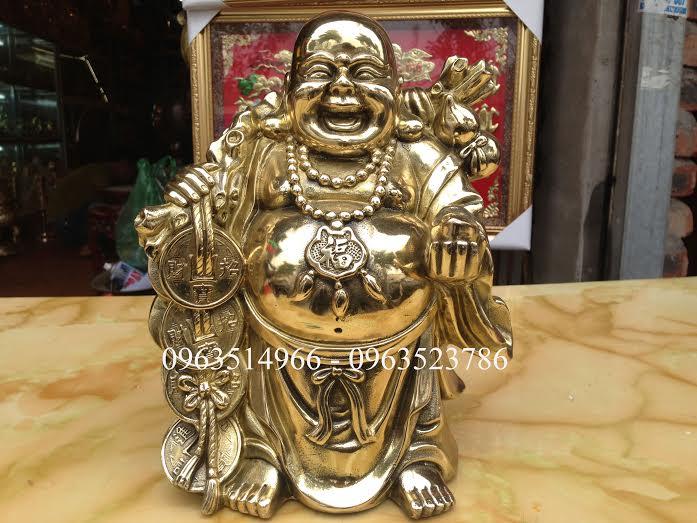 Tượng Đồng Phật Di Lạc Mang tài Lộc