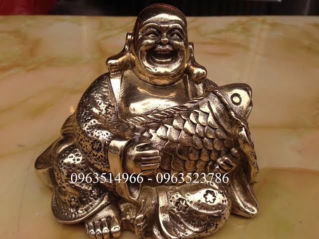 Tượng Phật Di Lạc Ôm Cá Chép