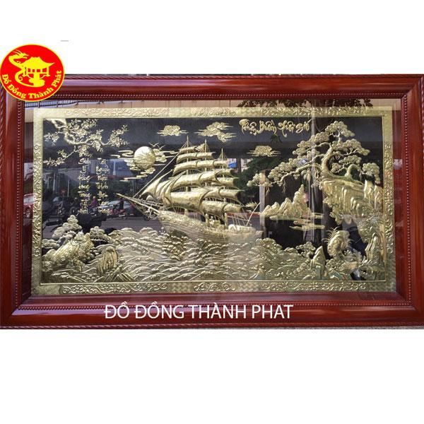 Tranh Đồng Thuận Buồn Xuôi Gió