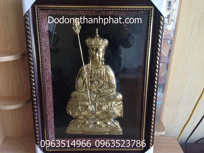 Tranh Phật Địa Tạng Vương Bồ Tát Bằng Đồng