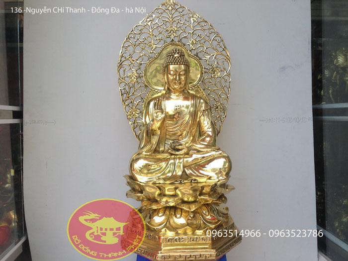 Tượng Phật DI Đà Cao 68 Cm