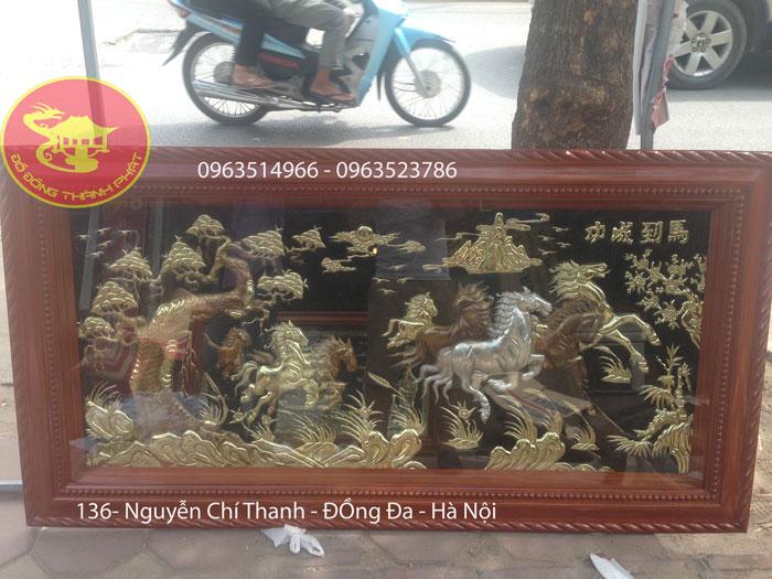 Cửa Hàng Bán Tranh bát mã truy phong Hà Nội
