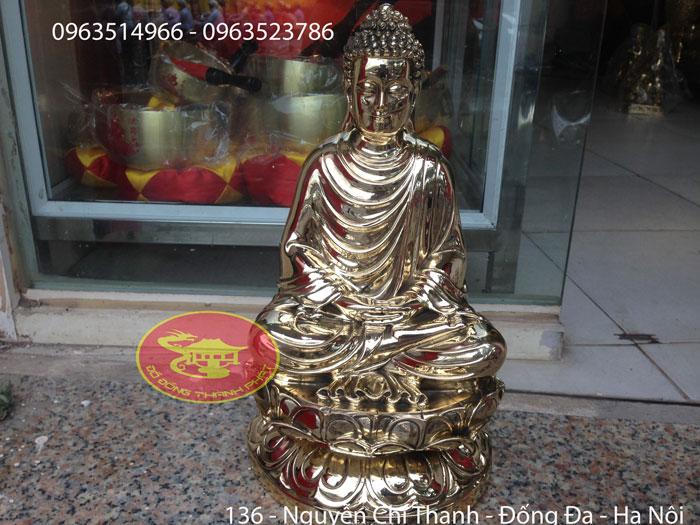 Tượng Phật Bằng Đồng Tượng Thích Ca Mâu Ni