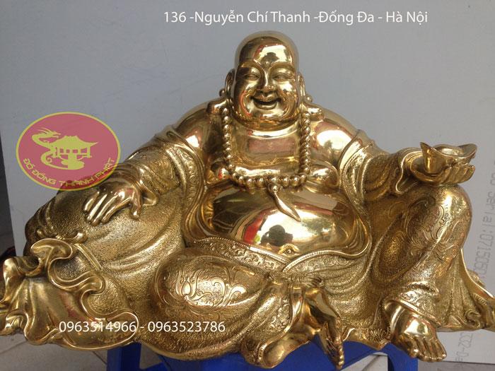 Tượng Phật Di Lạc Bằng Đồng Vàng