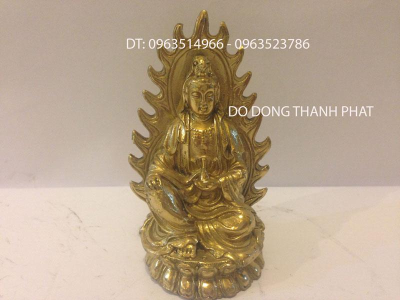 Tượng Phật Để Ô Tô Bằng ĐỒng