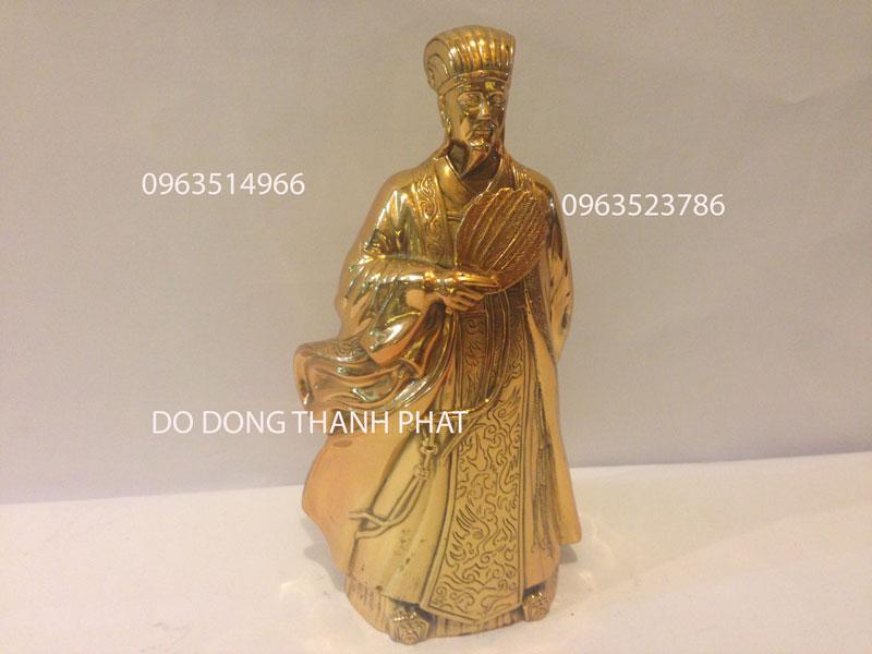 Tượng Khổng Minh Cao 28 cm
