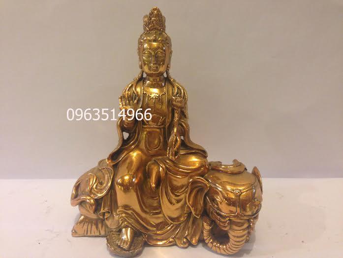 Tượng Phật Văn Thù Sư Lợi Bồ Tát Cao 23 cm