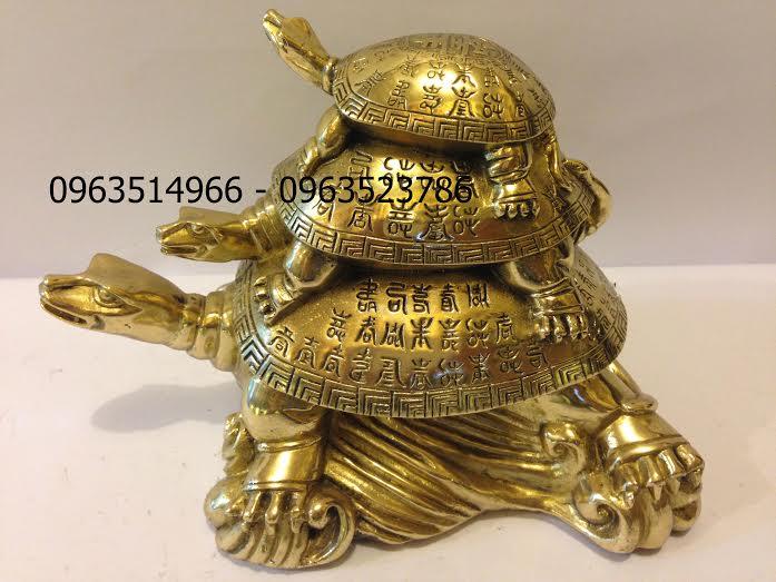 Thần Kim Quy Đầu Rùa Ba Tầng