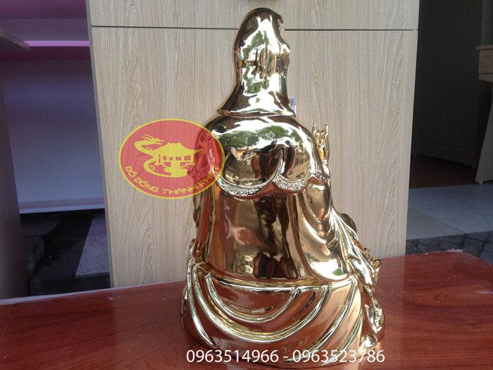 tượng phật mạ vàng 24 k đẹp cao cấp