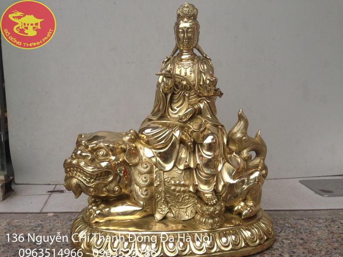 Tượng Phật Bồ Tát Văn thù Sơ Lợi