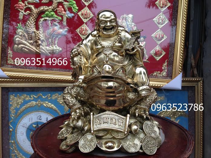 Phật DI Lạc Cưỡi Thiền Thừ Ba Chân Tài Lộc