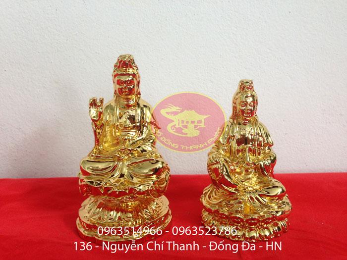 Tượng Phật Bằng Đồng Để Ô Tô
