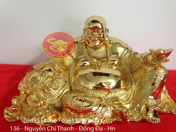 Tượng Phật Di Lạc Mạ Vàng 9999
