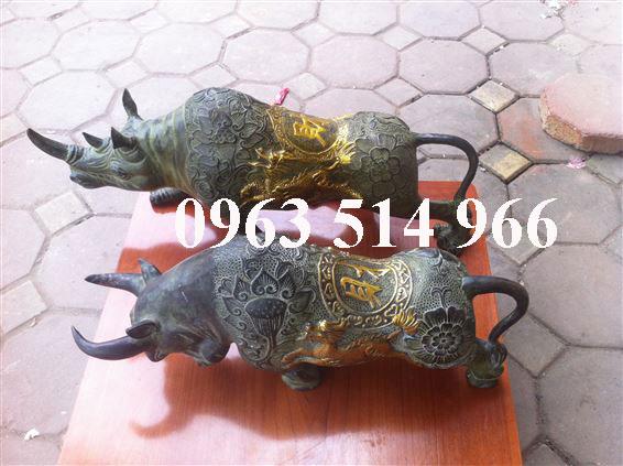 Quà tặng đối tác tê giác rừng