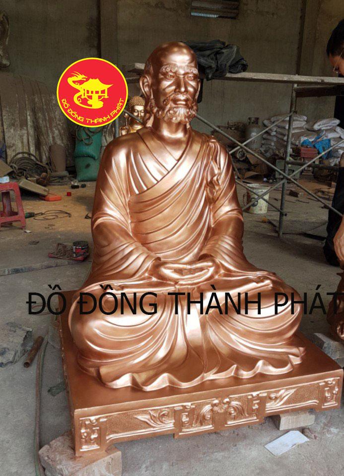 Đúc Tượng Phật Đà Ma Sư Tổ Bằng Đồng