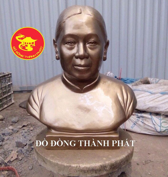 Đúc Tượng Chân Dung Cao 42 cm