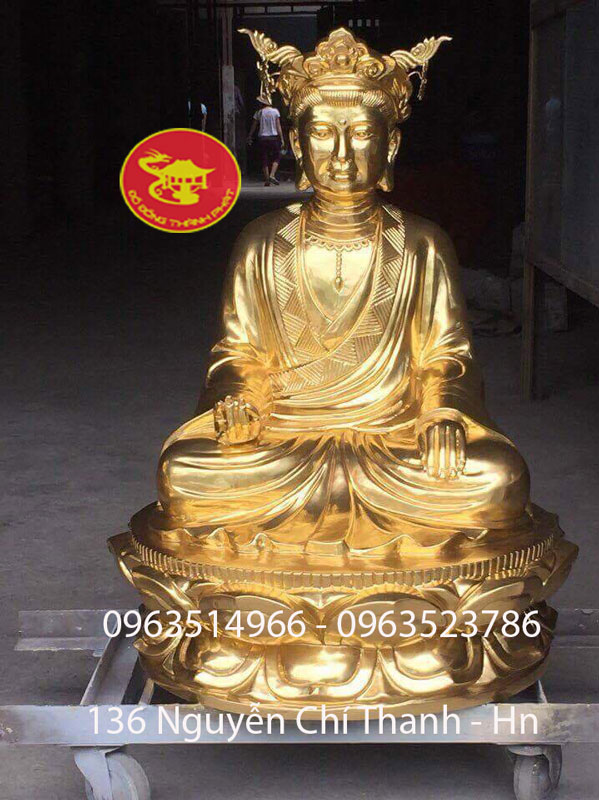 Tượng Vương Mẫu Lương Lương Thiếp Vàng 9999