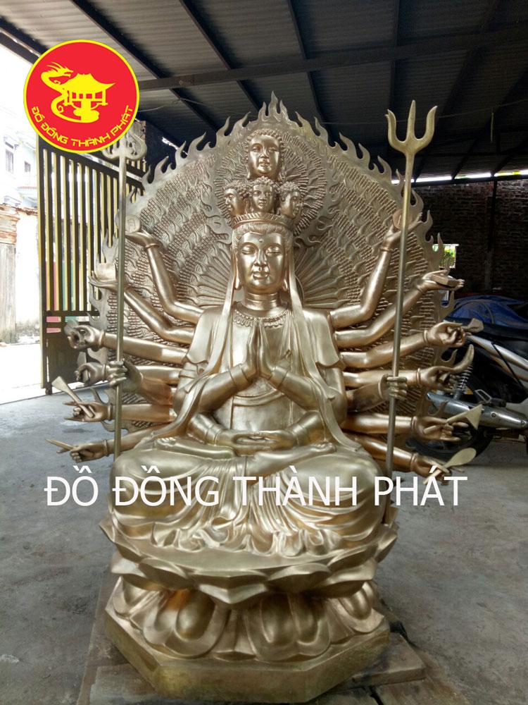 Đúc tượng đồng, đúc Tượng Phật