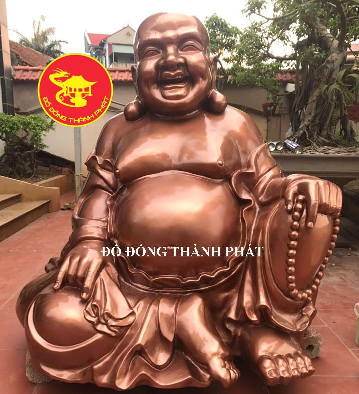 Đúc Tượng Phật Di Lạc Bằng Đồng Cao 1,27 m