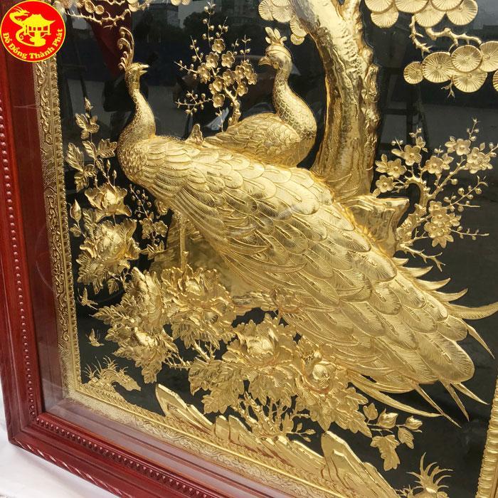 địa chỉ bán tranh phủ vàng ròng cao cấp