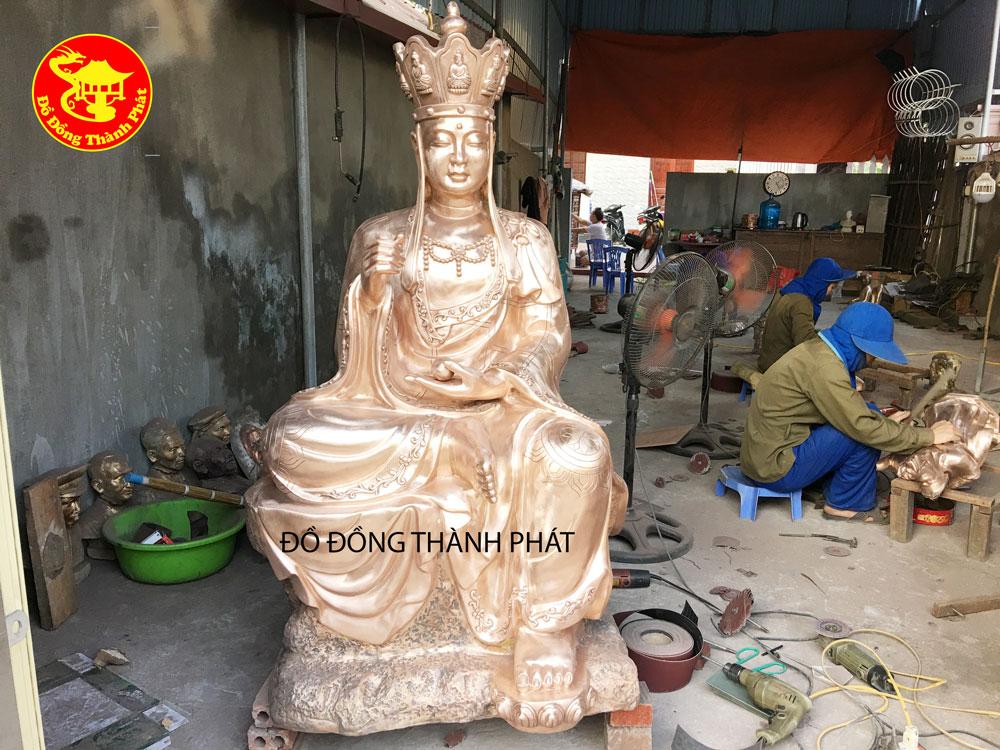 Cơ Sở Đúc Tượng Phật Bằng Đồng Đẹp Uy Tín Giá Rẻ Tại Đà Nẵng, Hà Nội, Sài Gòn