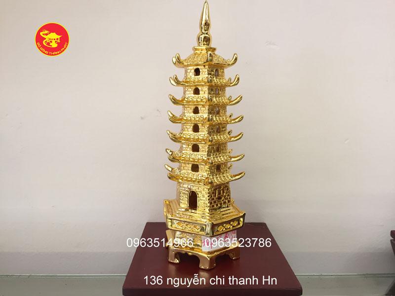 Tháp Văn Xương Mạ Vàng Cao Cấp
