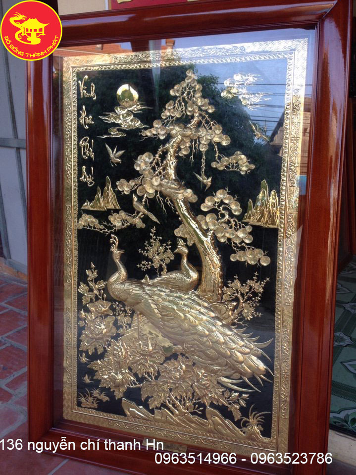 Tranh Đồng Phong Thủy Vinh Hoa Phú Quý