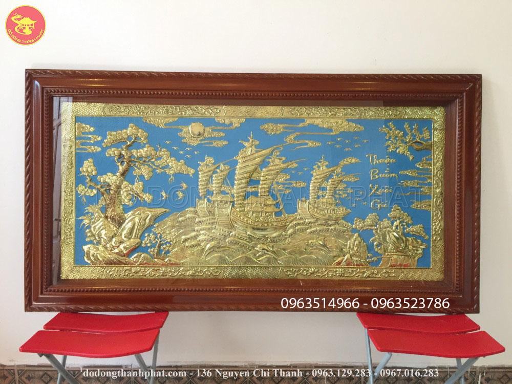 Bức Tranh Đồng Thuận Buồn Xuôi gió Đẹp