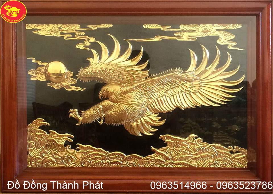 Tranh Đồng Phong Thủy Anh Hùng Vượt Đại Ngàn