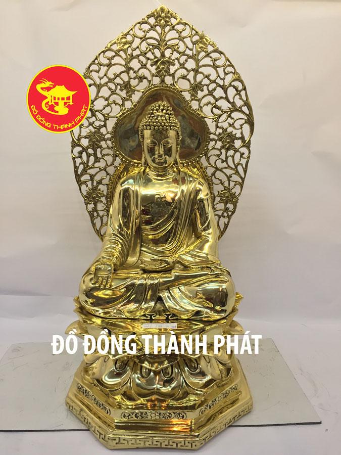 Bộ Tượng Phật Dược Sư Bằng Đồng