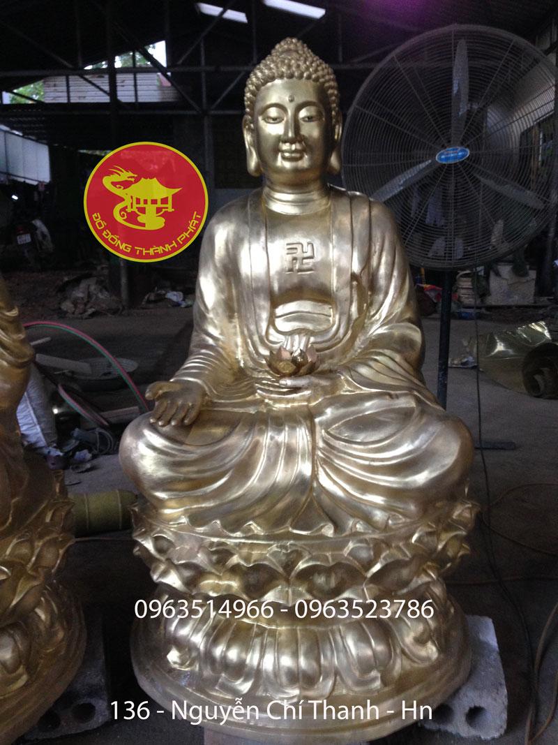 Đúc Tượng Phật A Di Đà