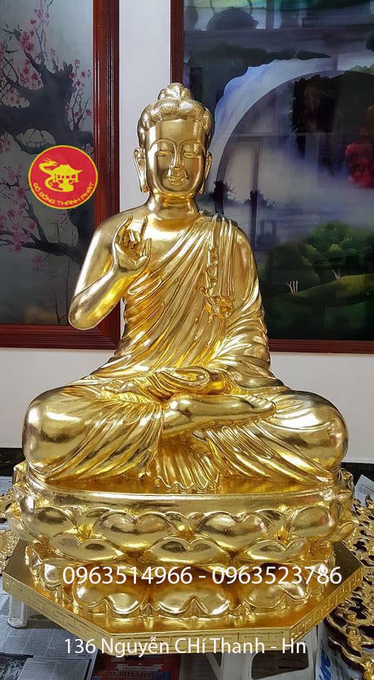 Đúc Tượng Phật Phật Thích Ca Mâu Ni Cao 88 cm